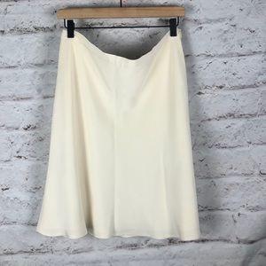 NWOT Due Per Due Silk Skirt Sz 14P